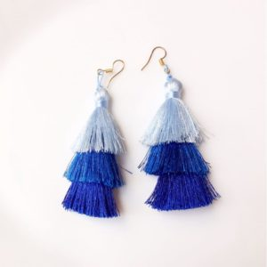 3-Layered-Tassel-Earrings-Blue-01