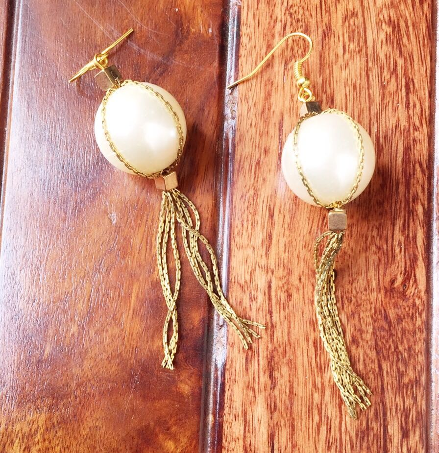 golden chains products image langsura earrings baab