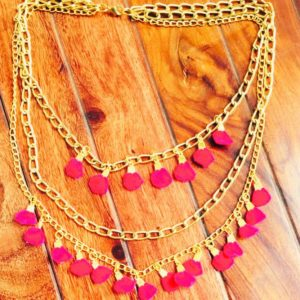 Golden-Multilayer-Chains-and-Deep-Pink-Necklace-02