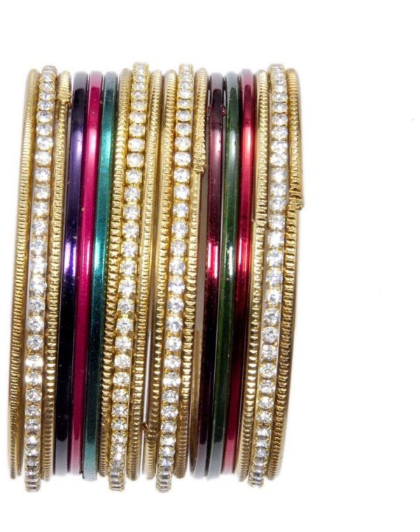 Multicoloured-Metal-Bangles-Set-With-Stones-01