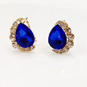 Crystal-Drop-With-Stones-Stud-Earrings-Royal-Blue-01