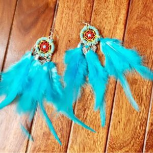 Dream-Catcher-Feather-Earrings-Light-Blue-01