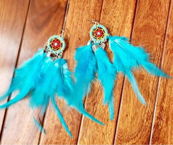 Dream-Catcher-Feather-Earrings-Light-Blue-01