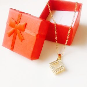 Golden-Square-Studded-Stones-Pendants-Necklace-01