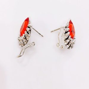 Red-Crystal-Drop-With-Stones-Stud-Earrings-02