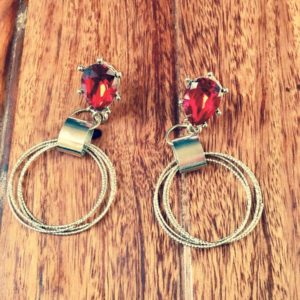 Red-Crystal-With-Silver-Rings-Earrings-01