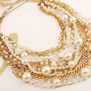 Super-Stylish-Multi-Layered-Statement-Necklace-with-Pearls-and-Chains-01