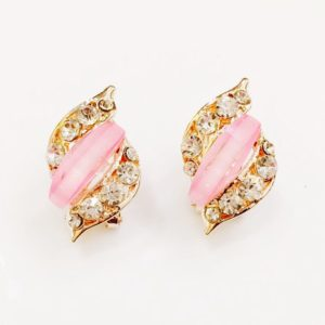 Trendy-Party-Stud-Earrings-Pink