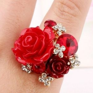 Big-Party-Finger-Rings-Rose-Red