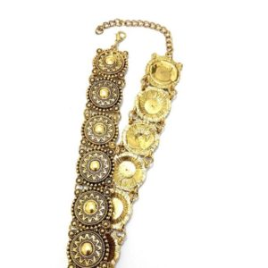 Bohemian-Metal-Crafted-Chokers-Antique-Gold-01