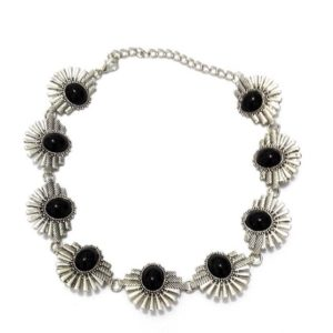 Bohemian-Metal-Crafted-Chokers-Black-Beads-01