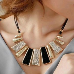 Fashion-Party-Necklaces-Collar-Necklace-Black-01