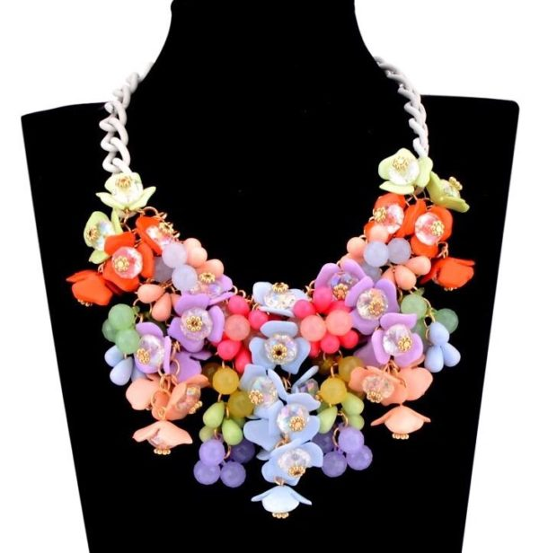 Floral-Statement-Necklace-Multicolor-01