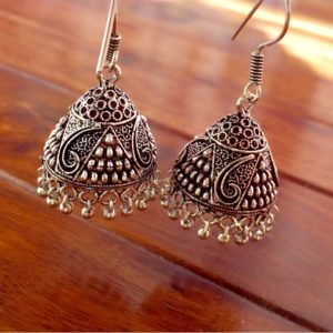 German-Silver-Jhumkis-With-Jali-Work-01