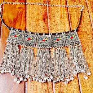 Long-Metal-Tassels-Turkish-Statement-Choker-Necklace-01