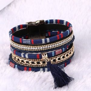 Multicolored-Multilayered-Tassel-Bracelet-With-Magnet-Lock-01