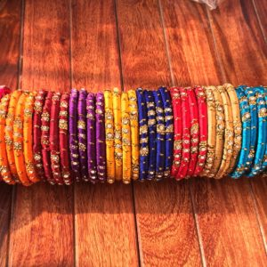 Silk-Thread-Kada-Set-Golden-Work