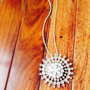 Sun-Shaped-All-Crystals-Pearls-Pendant-Chain-Necklace-02