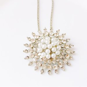 Sun-Shaped-All-Crystals-Pearls-Pendant-Chain-Necklace-03