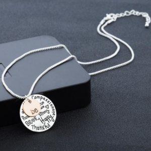 Be-Happy-Positive-Motivational-Pendant-Chain-Necklace