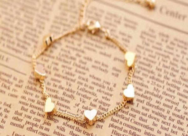 Golden-Chain-Bracelets-Moon-Hearts-02